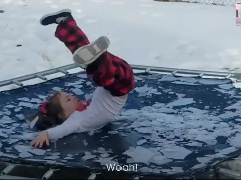 Pokušajte ne smijati se ljudima na ledu