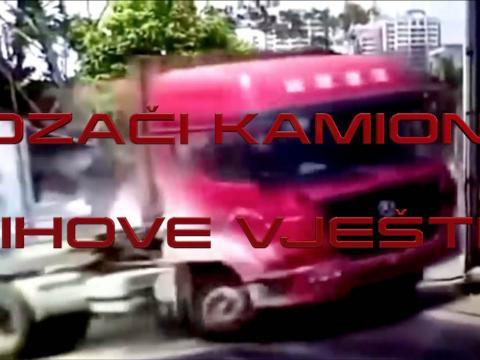 Vozači kamiona i njihove vještine