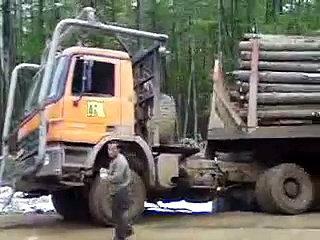 Izvlačenje Kamiona Kakvo Niste Vidjeli Do Sada